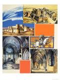 Le Krak Des Chevaliers Castle in Syria Giclee Print by Dan Escott