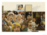 Womens Liberation Giclee Print by Ken Petts