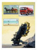 The Story of Oil: What Would We Do Without It Giclee Print by Clifford Meadway