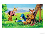 Brer Rabbit and Brer Fox Giclee Print by Henry Charles Fox