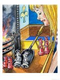 Alice Through the Looking Glass Giclee Print by Philip Mendoza