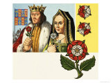 National Symbols of Britain: Emblems of the United Kingdom, Giclee Print