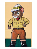 Katie Country Mouse Giveaway Free Gift Giclee Print by Harold Tamblyn-watts