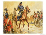 Duke of Wellington Rallying His Troops Giclee Print by James Edwin Mcconnell