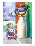 Katie Country Mouse Goes to London Giclee Print by Philip Mendoza