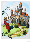 Jack and the Beanstalk Giclee Print