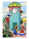 Katie Country Mouse Giclee Print