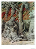 Samson and Delilah, c.1500 Giclee Print by Andrea Mantegna
