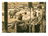 Constantinople Hippodrome Giclee Print by Fortunino Matania