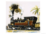 Narrow Guage Wt Class Bagnall-Built Tank Engine on the Western Railways Giclee Print by John S. Smith