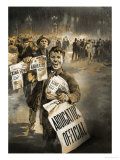 They Made Headlines: The King Abdicates Giclee Print by Neville Dear