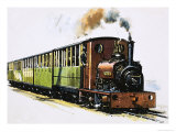 The World of Speed and Power: A Hunslet 0-4-0 Saddle Tank Called Dolbadarn Giclee Print by John S. Smith