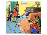Num Num and His Funny Family Giclee Print by Gordon Hutchings