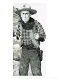 William S. Hart. Cowboy Actor of the Silent Movies Giclee Print by Jack Keay