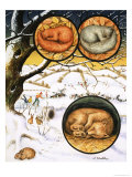 Animals That Sleep Through the Winter, Giclee Print