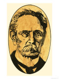 Karl Benz, the Famous Engineer, Giclee Print