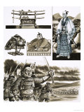 The Samurai's Trade is Robbery and Violence Giclee Print by Dan Escott