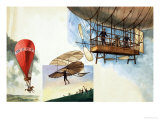 Flying One Hundred Years Ago Giclee Print by Peter Jackson