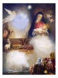 Unidentified Montage Based on the Birth of Jesus Giclee Print by John Millar Watt