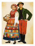 Polish Costume Giclee Print