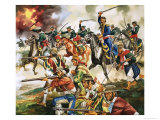 Unidentified War, Possibly Part of Mexican Revolution Giclee Print by Ron Embleton