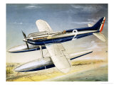 The Supermarine S6 Seaplane Giclee Print by John Henry Batchelor