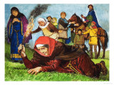 Festivals and Customs: Lady Mabella's Curse Giclee Print by Clive Uptton