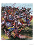 Into Battle: Agincourt - the Impossible Victory Giclee Print by Ron Embleton
