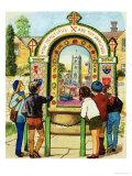 Tissington Well Giclee Print