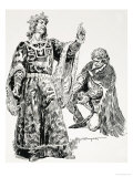 Edward the Third Seized Roger Mortimer and Brought Him to London in Chains Giclee Print by C.l. Doughty