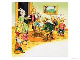 Bear Rabbit Giclee Print by Henry Charles Fox