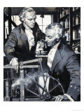 James Watt: The Man Who Harnessed Steam Giclee Print by Frank Marsden Lea