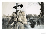 General Bill Slim, Who Led the Victory Against the Japanese in Burma Giclee Print by Graham Coton