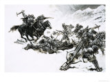 Giovanni de Medici Led an Army of Killers Known as the Black Bands Giclee Print by Graham Coton