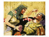 Cleopatra and Caesar Giclee Print by Don Lawrence