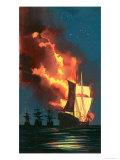 Men of the Jolly Roger: Morgan - Terror of the Main Giclee Print by Ron Embleton