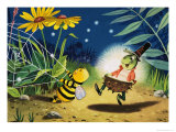 Gregory Grasshopper Giclee Print by Gordon Hutchings
