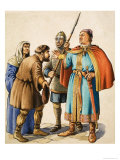 Henry II Listens to the Grievance of a Humble Subject Giclee Print by Michael Godfrey
