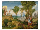 The Sacrifice of Isaac Giclee Print by Herri Met De Bles