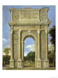 The Arch of Triumph Lámina giclée por Domenichino