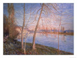 Winter Morning, 1878 Giclee Print by Alfred Sisley