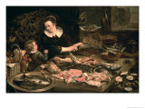 The Fishmonger Giclee Print by Frans Snyders Or Snijders