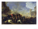 Battle Scene, c.1641-42 Giclee Print by Salvator Rosa