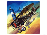 Freedom of the Skies: Yankee Super Ace. Edward Rickenbacker Giclee Print by Wilf Hardy