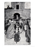 The Fall of Montcalm Giclee Print by Howard Pyle