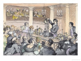 Chemical Lectures, c.1809 Giclee Print by Thomas Rowlandson