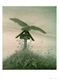 Owl on a Grave, 1836-7 Giclee Print by Caspar David Friedrich