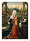 St.Anne Conceiving the Virgin Giclee Print by Jean The Elder Bellegambe