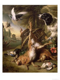 Still Life with Dead Game and Hares Giclee Print by Jan Weenix
