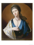 Mrs. Fall Giclee Print by Benjamin West